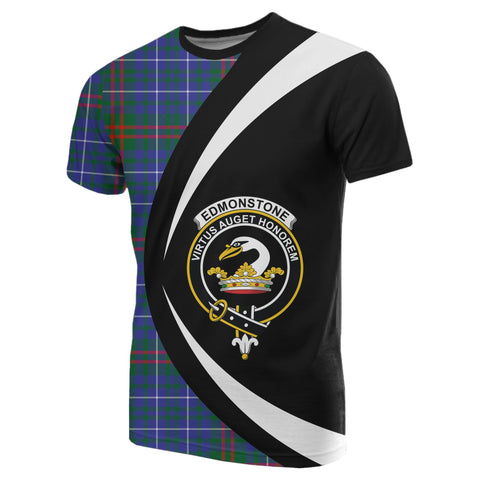 Image of Edmonstone Tartan T-shirt Circle