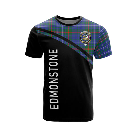 Image of Edmonstone (of Duntreath) Tartan All Over T-Shirt - Curve Style