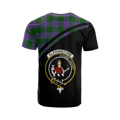 Elphinstone Tartan All Over T-Shirt - Curve Style