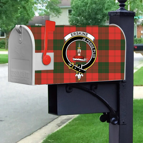 ScottishShop Mailbox Cover - Erskine Tartan Mailbox (Custom)