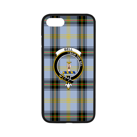 Bell Of The Borders Tartan Clan Badge Rubber Phone Case