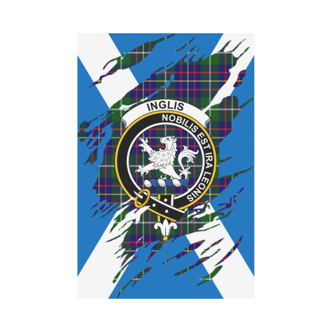 ScottishShop Garden Flag - Tartan Inglis Lives In Me Flag