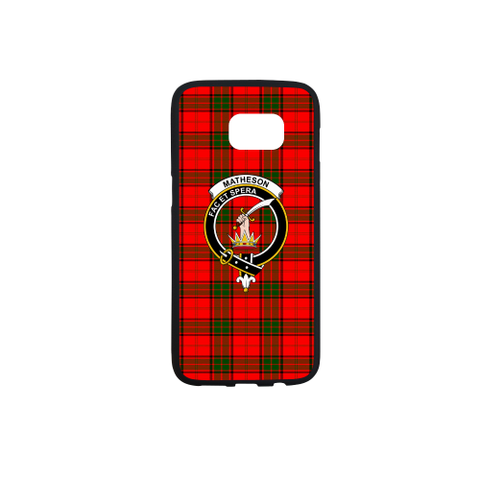 Maxtone Tartan Clan Badge Rubber Phone Case