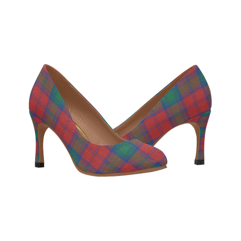 Image of Lindsay Modern Plaid Heels