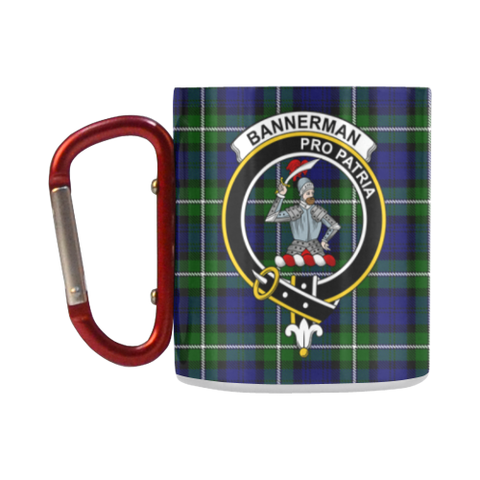 Bannerman  Tartan Mug Classic Insulated - Clan Badge