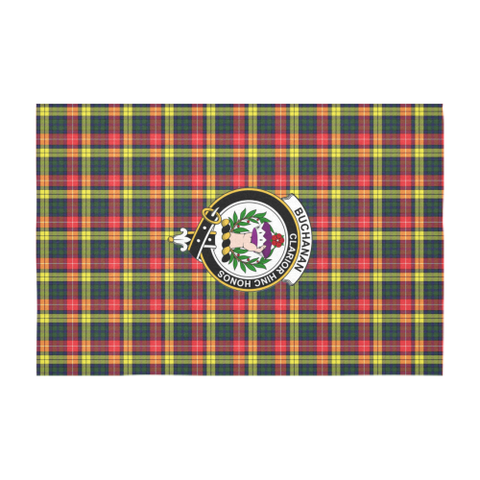 Buchanan Crest Tartan Tablecloth | Home Decor