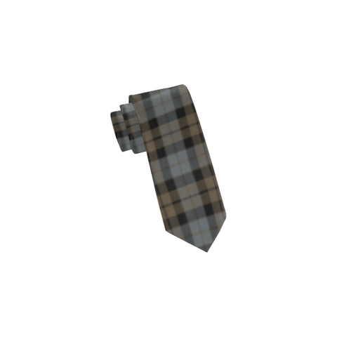 Image of Tartan Necktie - Mackay Weathered Tie