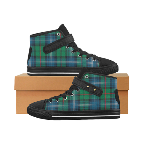 Urquhart Ancient Tartan Shoes - Aquila Strap Shoes