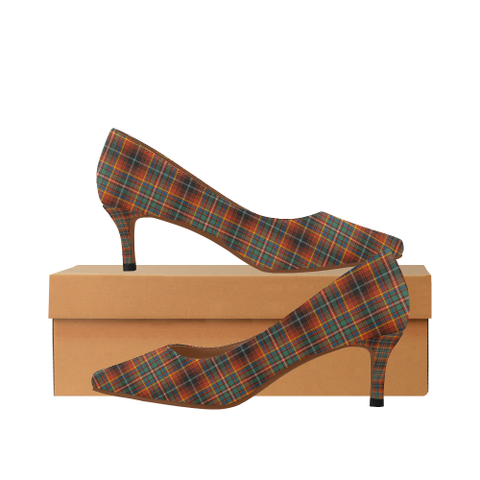 Image of Innes Ancient Plaid Heels