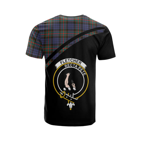 Fletcher Tartan All Over T-Shirt - Curve Style
