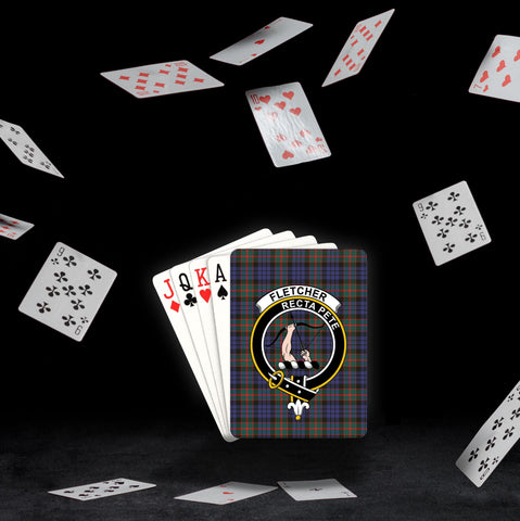 ScottishShop Fletcher Playing Card - Tartan Playing Card Royal Style