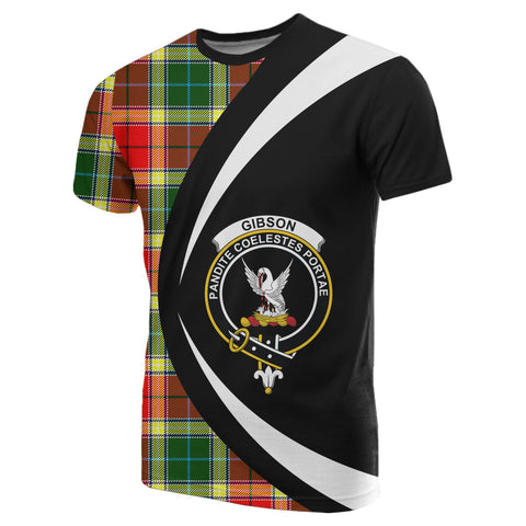 Image of Gibbs Tartan T-shirt Circle