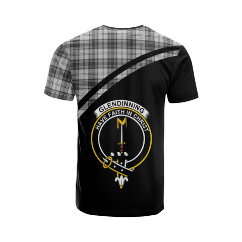 Image of Glendinning Tartan All Over T-Shirt - Curve Style