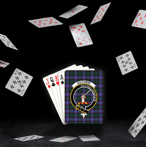 Image of ScottishShop Guthrie Playing Card - Tartan Playing Card Royal Style