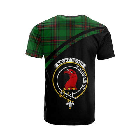 Halkerston Tartan All Over T-Shirt - Curve Style
