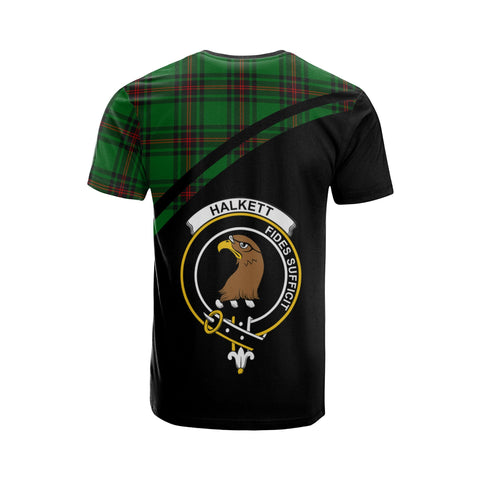 Image of Tartan Shirt - Halkett Clan Tartan Plaid T-Shirt Curve Version Back