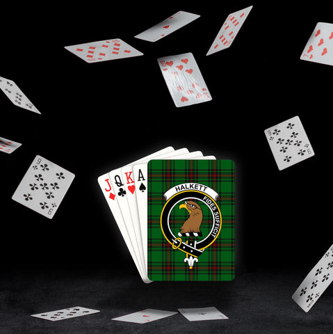 ScottishShop Halkett Playing Card - Tartan Playing Card Royal Style