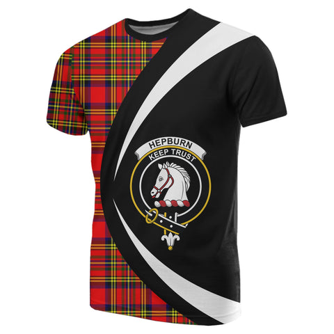 Image of Hepburn Tartan T-shirt Circle