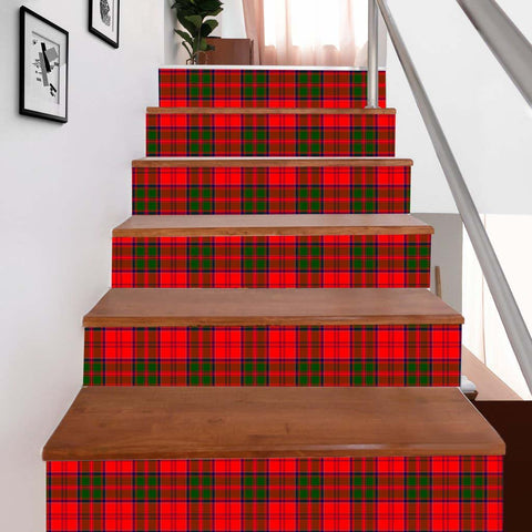 Scottishshop Tartan Stair Stickers - Heron Stair Stickers - NAC