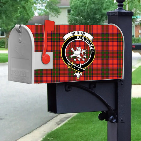 Image of ScottishShop Heron MailBox - Tartan  MailBox Cover