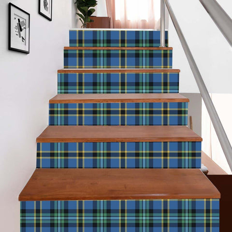 Image of Scottishshop Tartan Stair Stickers - Hope Stair Stickers - NAC