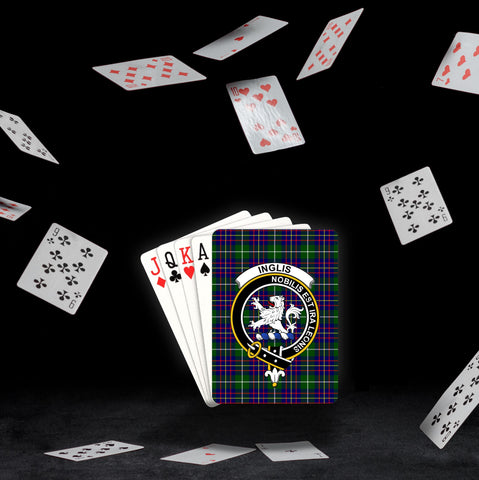 ScottishShop Inglis Playing Card - Tartan Playing Card Royal Style