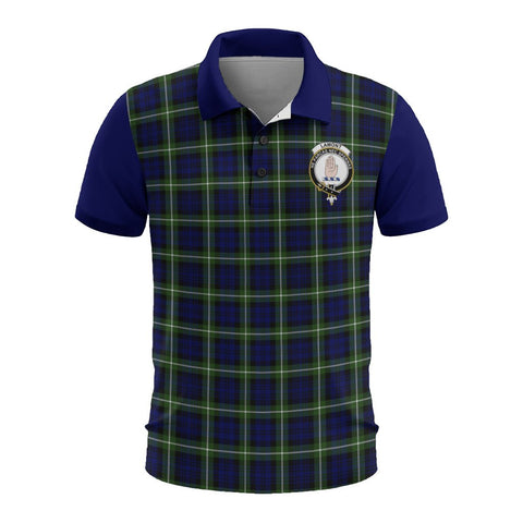 Tartan Polo - Lamont Plaid Mens Polo Shirt - Clan Crest