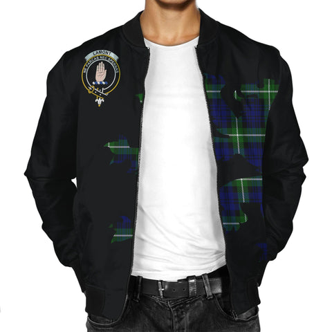Lamont Lion And Thistle Men Jacket