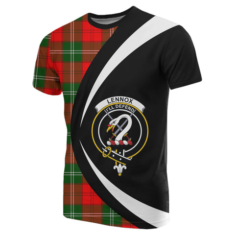 Image of Lennox Modern Tartan T-shirt Circle