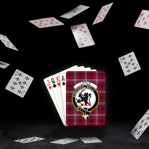 ScottishShop Little Playing Card - Tartan Playing Card Royal Style