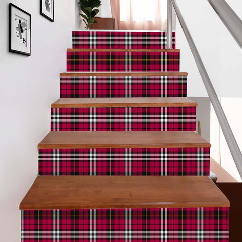 Scottishshop Tartan Stair Stickers - Little Stair Stickers - NAC