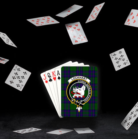 Image of ScottishShop Lockhart Playing Card - Tartan Playing Card Royal Style