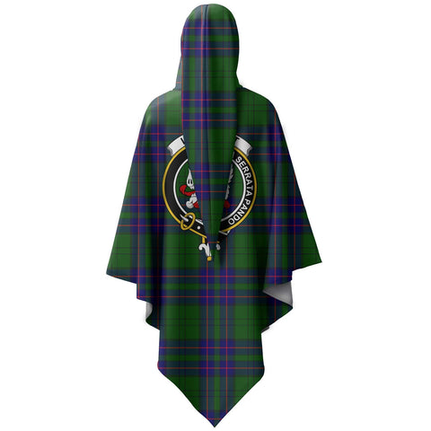 Image of ScottishShop Lockhart Cloak - Lockhart Crest Cloak - NAC