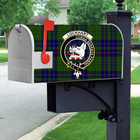 Image of ScottishShop Mailbox Cover - Lockhart Tartan Mailbox (Custom)