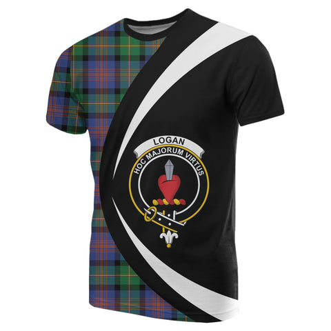 Image of Logan Ancient Tartan T-shirt Circle