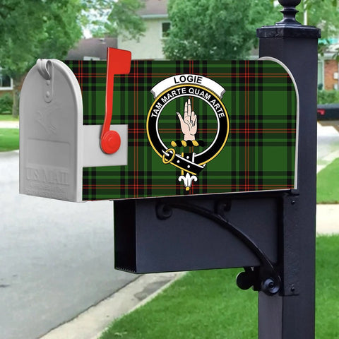 ScottishShop Mailbox Cover - Logie Tartan Mailbox (Custom)