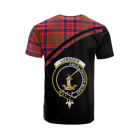 Lumsden Tartan All Over T-Shirt - Curve Style