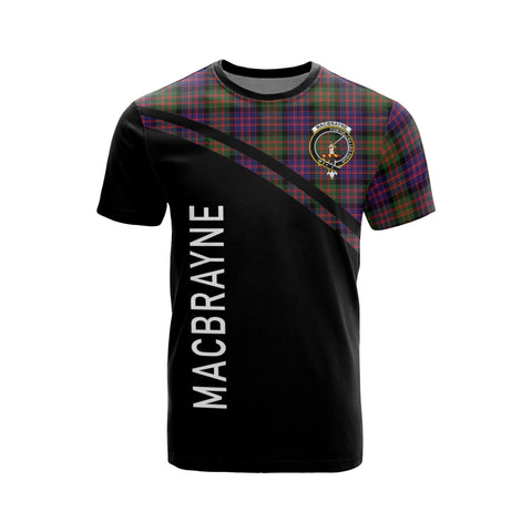 Image of MacBrayne Tartan All Over T-Shirt - Curve Style