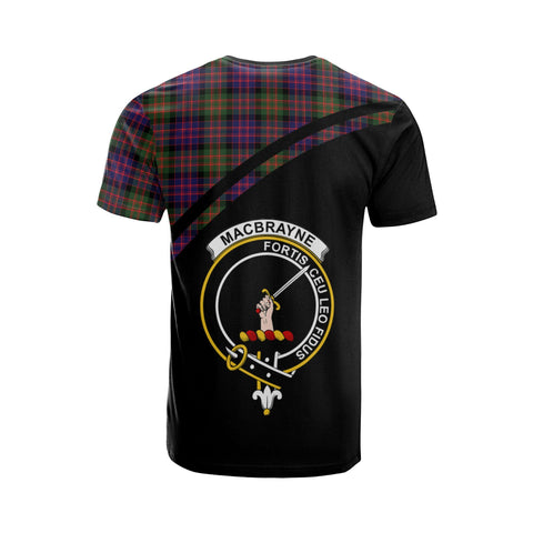 Image of Tartan Shirt - MacBrayne Clan Tartan Plaid T-Shirt Curve Version Back