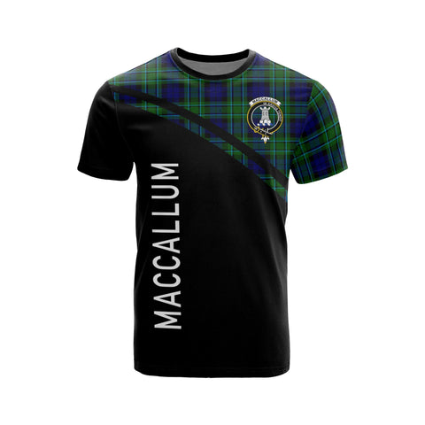 Image of MacCallum Tartan All Over T-Shirt - Curve Style