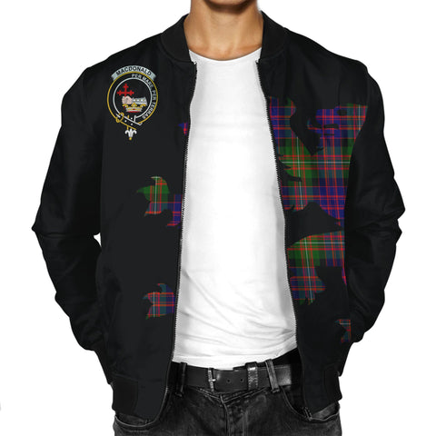 Image of MacDonald (Clan Donald) Lion And Thistle Men Jacket