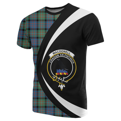 Image of MacDonnell of Glengarry Ancient Tartan T-shirt Circle