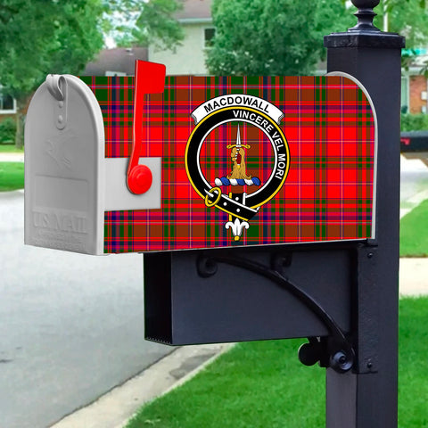 ScottishShop MacDowall (of Garthland) MailBox - Tartan  MailBox Cover