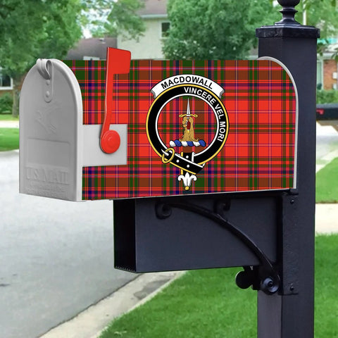 ScottishShop Mailbox Cover - MacDowall (of Garthland) Tartan Mailbox (Custom)
