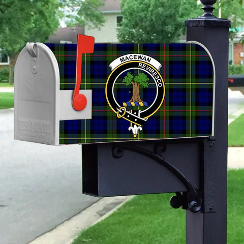 ScottishShop Mailbox Cover - MacEwen Tartan Mailbox (Custom)