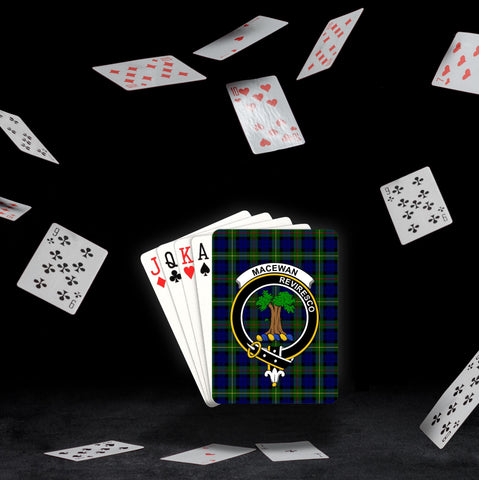 ScottishShop MacEwen Playing Card - Tartan Playing Card Royal Style
