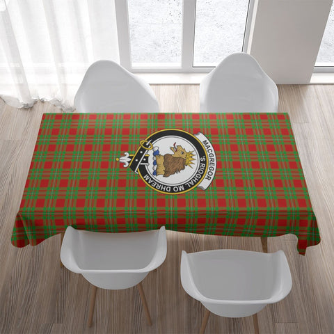 MacGregor Crest Tartan Tablecloth | Home Decor