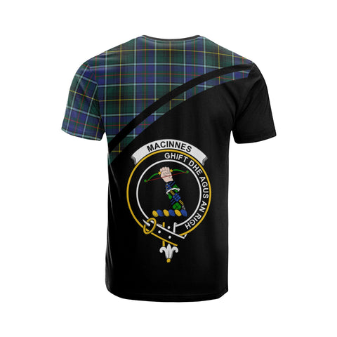 Image of MacInnes Tartan All Over T-Shirt - Curve Style