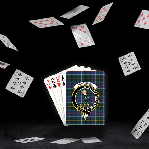 ScottishShop MacInnes Playing Card - Tartan Playing Card Royal Style