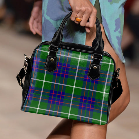 Image of MacIntyre Hunting Modern Tartan Shoulder Handbag for Women | Hot Sale | Scottish Clans